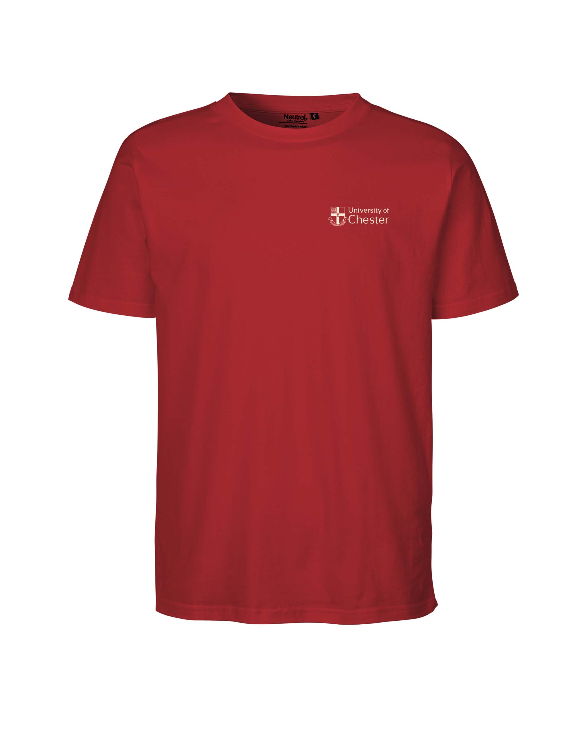 Neutral range - UoC T-Shirt - Red- S