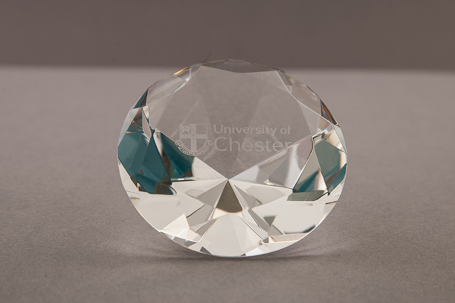 Facet Paperweight
