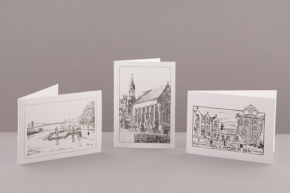 Notelet and envelope set (5 cards)