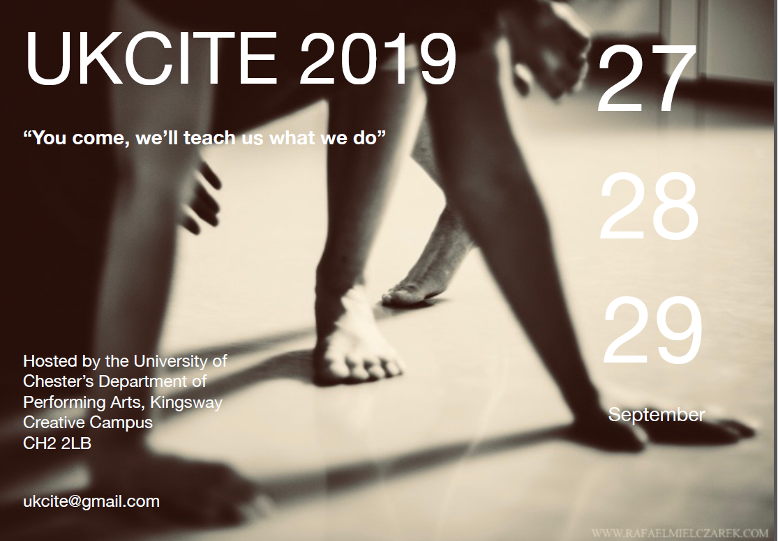 UKCITE 2019 - UK Contact Improvisation Teachers Exchange